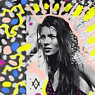 Kate Moss Pop Art Aesthetic collage by vasarenar