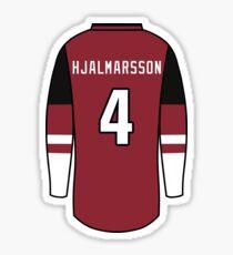 Niklas Hjalmarsson Jersey Sticker