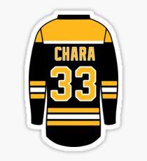 Zdeno Chara Jersey Sticker