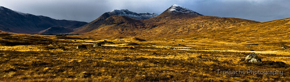 Black Mount in Early Winter by Trossachs Photography