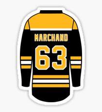 Brad Marchand Jersey Sticker