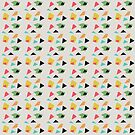geometric confetti pattern  by vasarenar