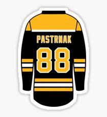 David Pastrnak Jersey Sticker