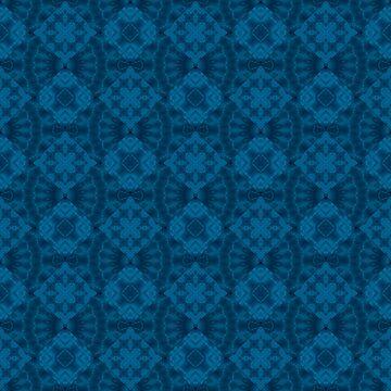 Blue patchwork 2 by fuzzyfox