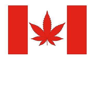 Funny Canadabis Flag by fungear