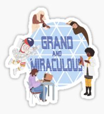 A Grand and Miraculous Spaceship Sticker