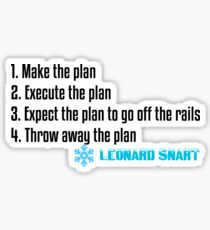 Leonard Snart Quote Sticker
