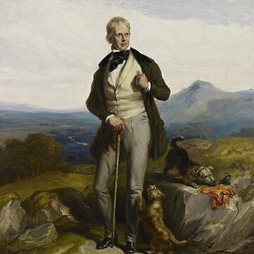 Sir Walter Scott Portrait - by William Allan by warishellstore