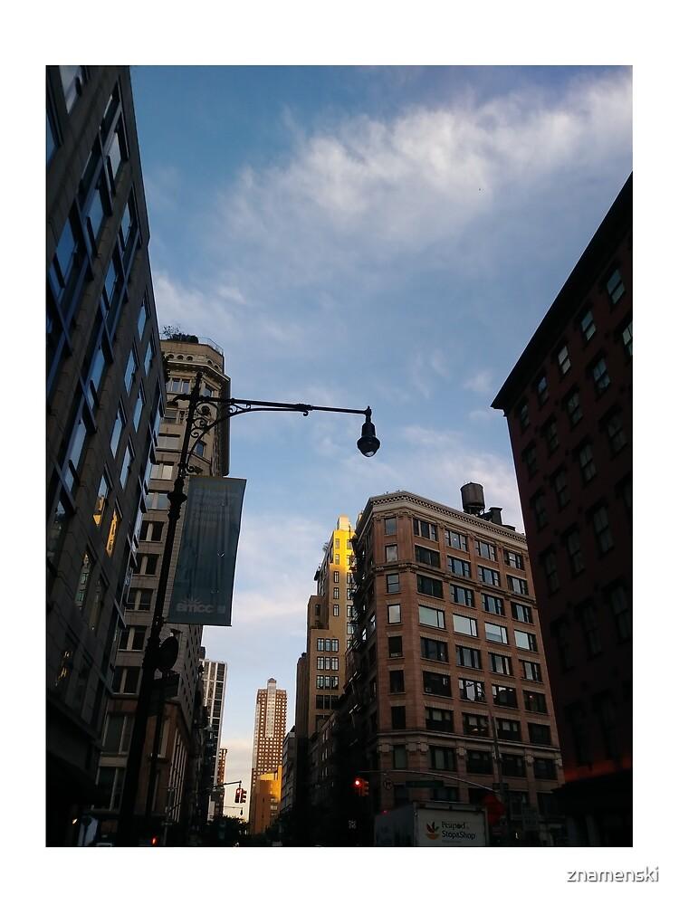 #sky, #architecture, #business, #city, #outdoors, #technology, #modern, #vertical, #colorimage, #NewYorkCity, #USA, #americanculture by znamenski