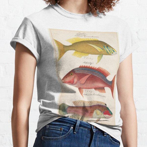 Sketches of Australian fishes, circa 1840 Classic T-Shirt