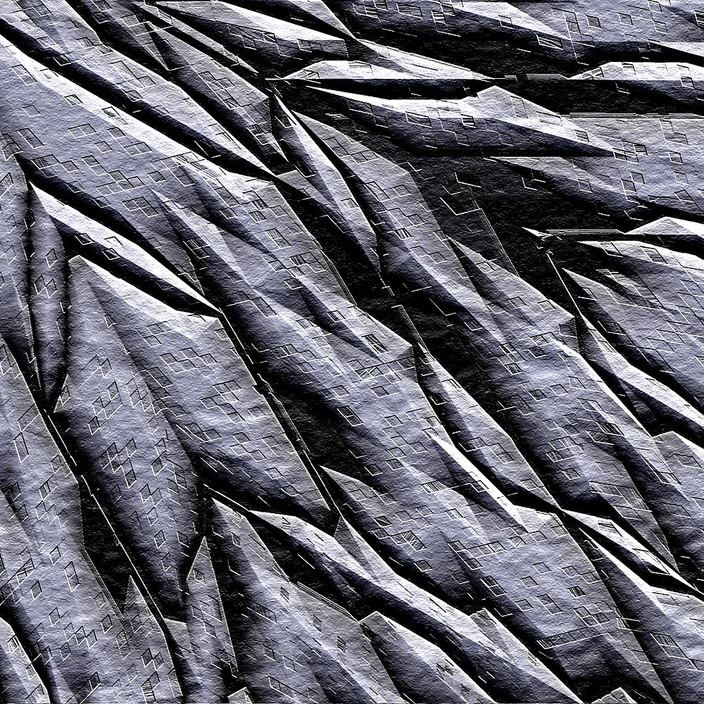 Chiselled  Rock 2000 by Hugh Fathers