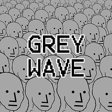 NPC Crowd - Grey Wave Variant #2 - Wojak by RebarForOwt
