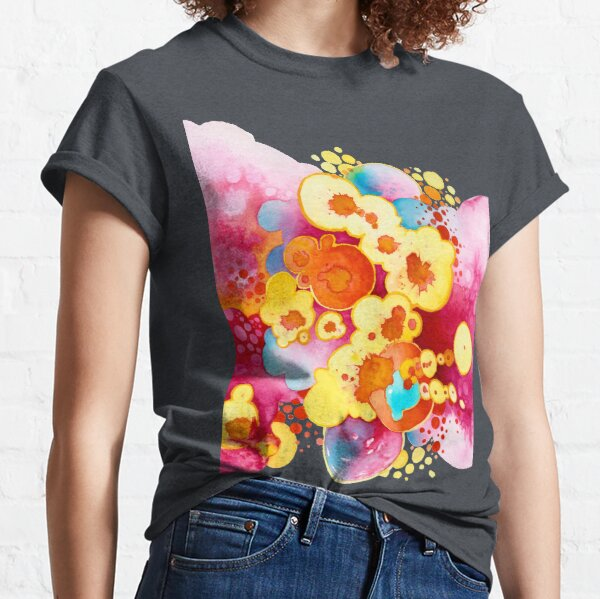 Boom! Everything - Watercolor Painting Classic T-Shirt