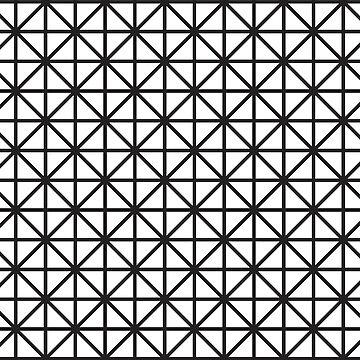 Cube Black + White by KookiePixel
