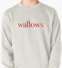 wallows red logo Pullover Sweatshirt