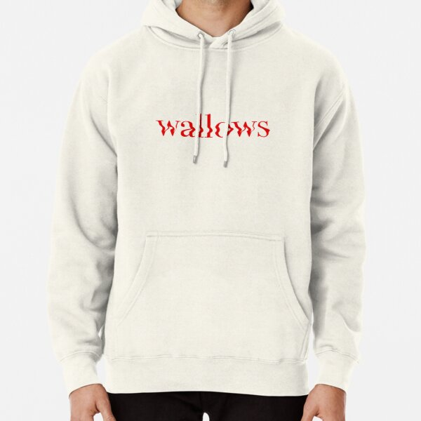 wallows red logo Pullover Hoodie