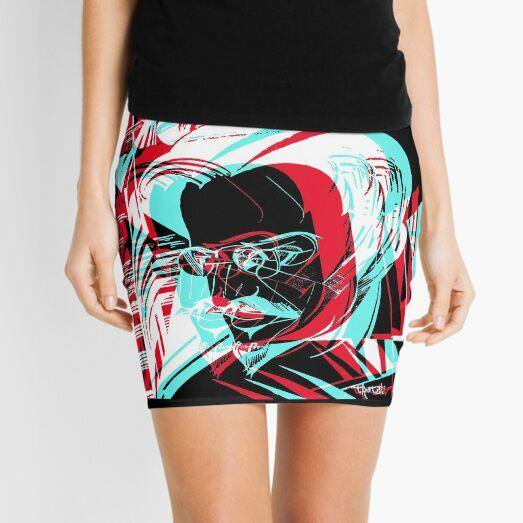 "Findigo ""Trotsky"" 3D communism motif T-shirt Mini Skirt"