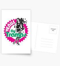 Venus Fly Tramps Postcards
