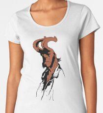 Hellboy in Farbe Frauen Premium T-Shirts