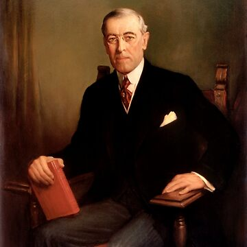 Woodrow Wilson Presidential Portrait - Frank Graham Cootes by warishellstore