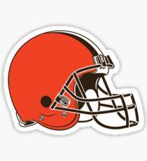 Cleveland Browns Helmet Logo Sticker