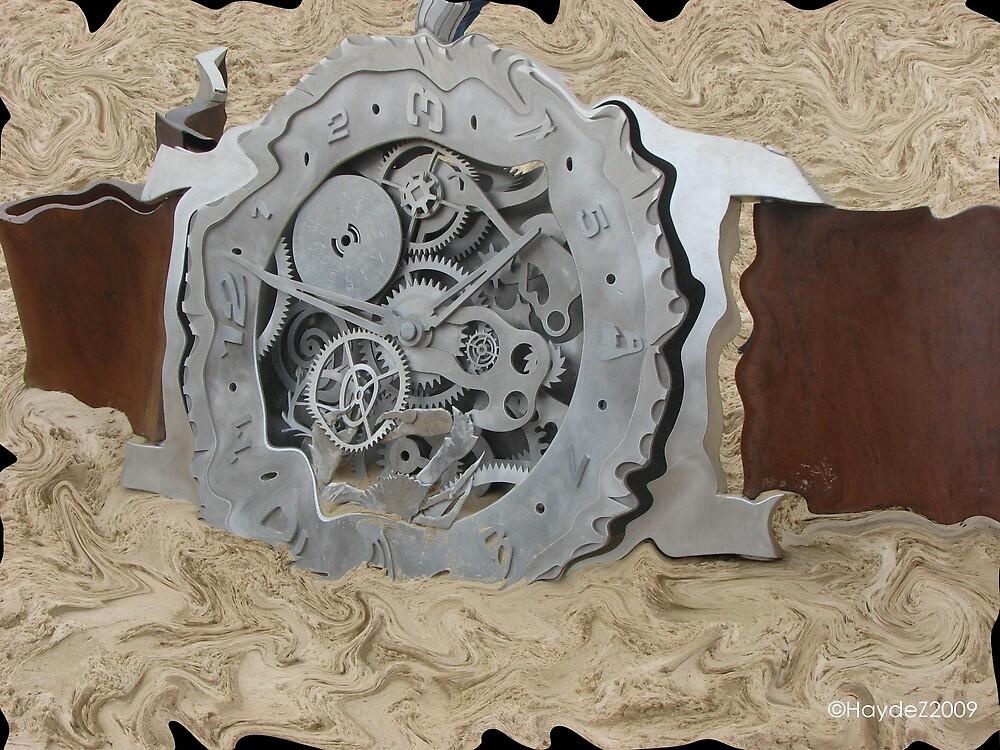 Clock  by Haydez