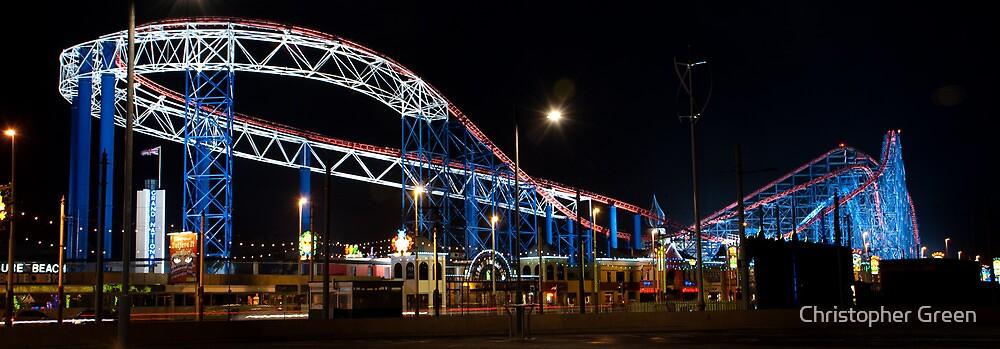 Blackpool Pleasure Beach by Christopher Green