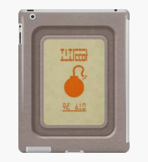 Bomber's Notebook iPad Case/Skin