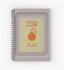 Bomber's Notebook Spiral Notebook