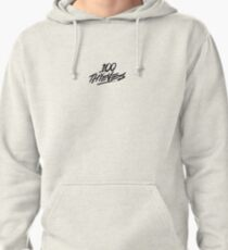 100 Thieves small logo Pullover Hoodie