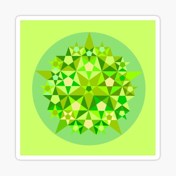 Crop circle Martinsell, Wilshire, du 7 juillet 2018 Sticker