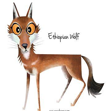 Ethiopian Wolf by rohanchak