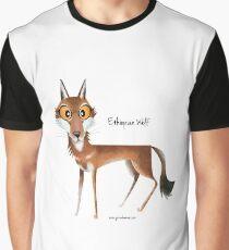 Ethiopian Wolf Graphic T-Shirt
