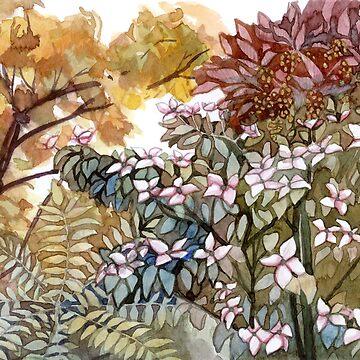 foliage study by yellowmelle