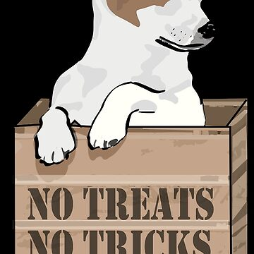 Jack Russell No Treats No Tricks by GBCdesign