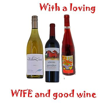 wine and wife by coxon