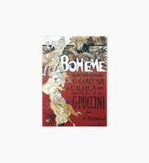 La Bohème Vintage Galeriedruck