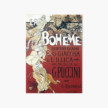 La Boheme Vintage Art Board Print