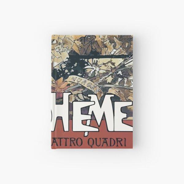 La Boheme Vintage Hardcover Journal