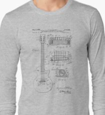 Guitar patent from 1955 Long Sleeve T-Shirt