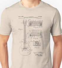 Camiseta ajustada Patente de guitarra desde 1955