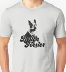 Boston Terrier | Vintage Pet Animal Graphic Unisex T-Shirt