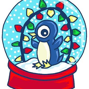 Christmas Penguin by missmann