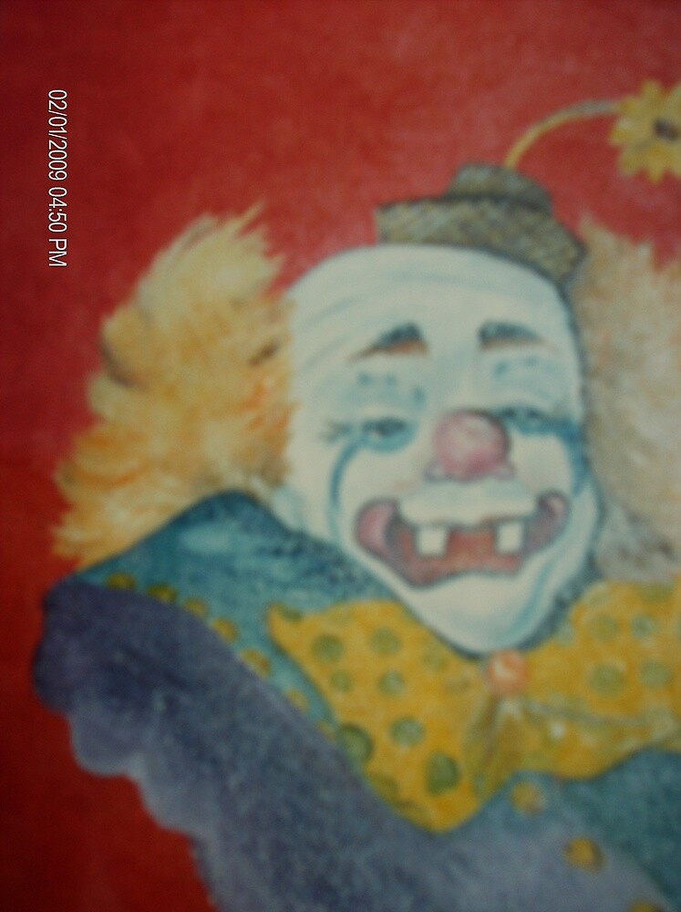 """My favorite Clown """"Clyde"""" by terrilee"""
