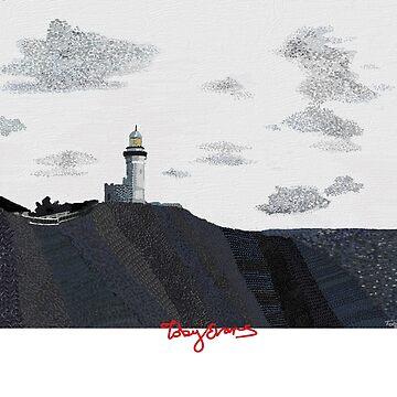Cape Byron Light House, Byron Bay NSW by tobycentreart