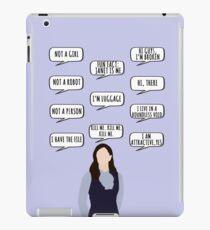 janet quotes iPad Case/Skin