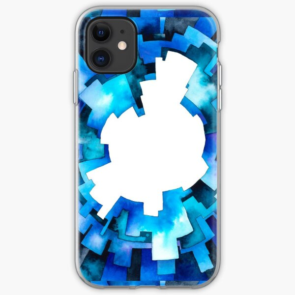 Fancy Blurry Life - Watercolor Painting iPhone Soft Case