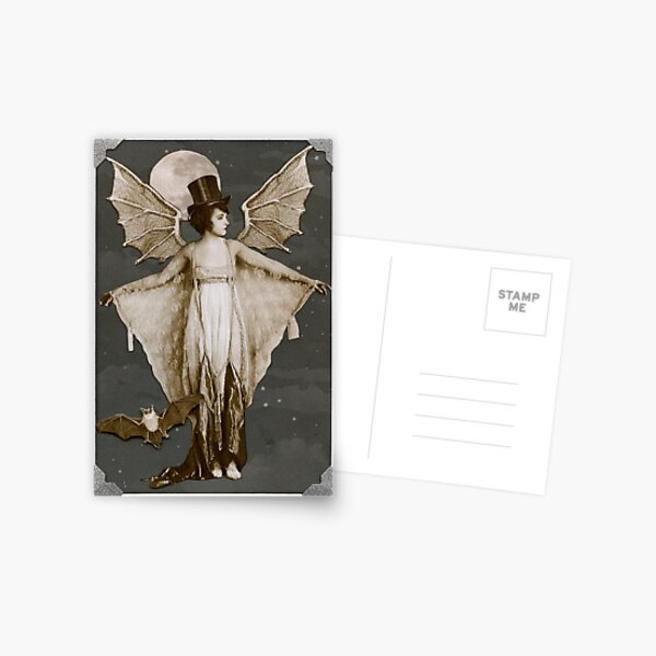 Batty Couture Postcard