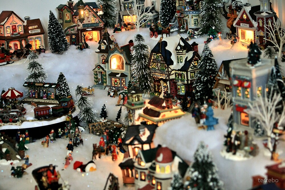 Old City Christmas Time by terrebo