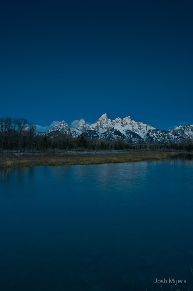 Tetons Sunrise by Josh Myers